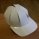 Čepice papírová s kšiltem