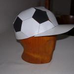 Fotbalová papírová čepice
