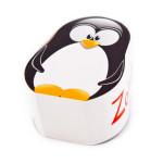 Kapesníčky v boxu ve tvaru tučňáka