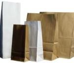 Papírové tašky (sáčky) bez uch