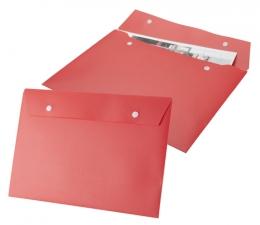 Plastová složka na dokumenty s patentem.