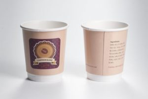 Papírové kelímky COLD CUPS - 100 / 120 ml (4 oz)