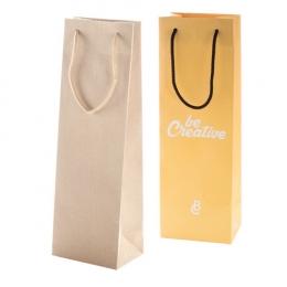 Papírová taška na víno