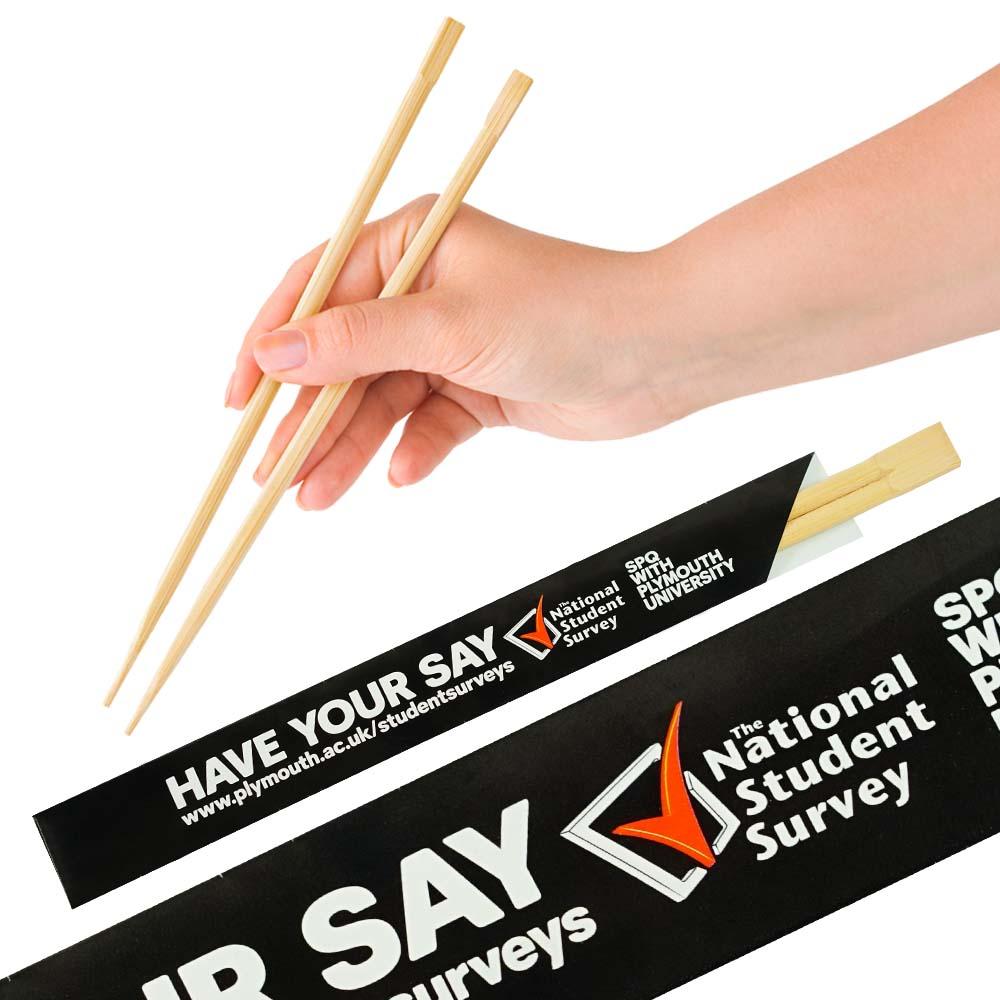Bambusové jednorázové hůlky