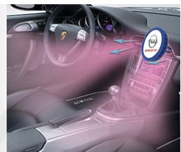 Vůně do auta - zasouvací do ventilátoru
