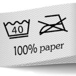 Prací papírový sáček s Vašim logem