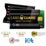 bezpečnostní pouzdro na platební kartu