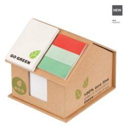 EKO-papírový domek do kanceláře