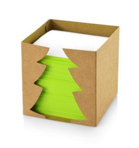Lístečky ve vánoční krabičce