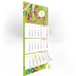 Kalendář trojdílný