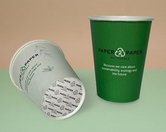 Jednostěnné papírové kelímky